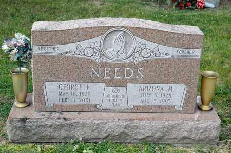 NEEDS, ARIZONA M - Richland County, Ohio   ARIZONA M NEEDS - Ohio Gravestone Photos