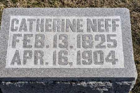 NEFF, CATHERINE - Richland County, Ohio   CATHERINE NEFF - Ohio Gravestone Photos