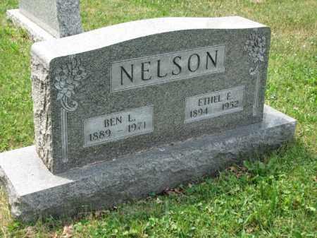 NELSON, ETHEL E. - Richland County, Ohio | ETHEL E. NELSON - Ohio Gravestone Photos