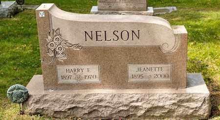 NELSON, HARRY E - Richland County, Ohio | HARRY E NELSON - Ohio Gravestone Photos