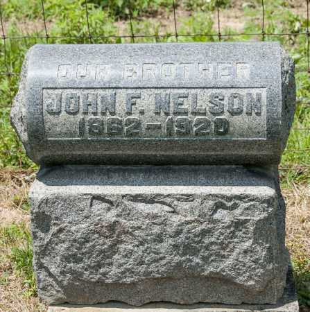 NELSON, JOHN F - Richland County, Ohio | JOHN F NELSON - Ohio Gravestone Photos
