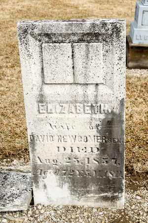 NEWCOMER, ELIZABETH - Richland County, Ohio   ELIZABETH NEWCOMER - Ohio Gravestone Photos