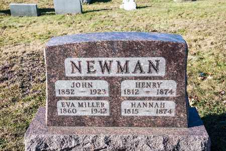 NEWMAN, HANNAH - Richland County, Ohio | HANNAH NEWMAN - Ohio Gravestone Photos