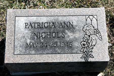 NICHOLS, PATRICIA ANN - Richland County, Ohio   PATRICIA ANN NICHOLS - Ohio Gravestone Photos