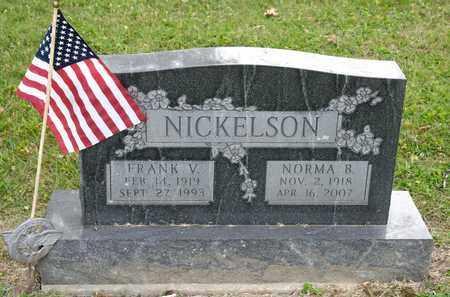 NICKELSON, NORMA B - Richland County, Ohio | NORMA B NICKELSON - Ohio Gravestone Photos