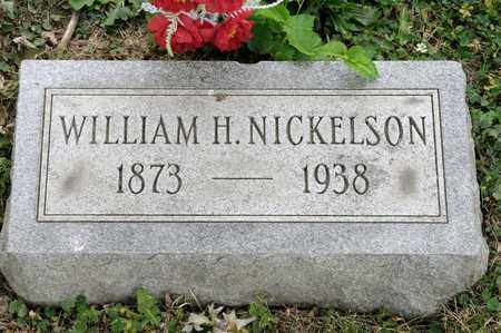 NICKELSON, WILLIAM H - Richland County, Ohio | WILLIAM H NICKELSON - Ohio Gravestone Photos