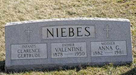 NIEBES, CLARNECE - Richland County, Ohio | CLARNECE NIEBES - Ohio Gravestone Photos