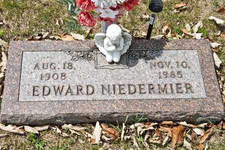 NIEDERMIER, EDWARD - Richland County, Ohio | EDWARD NIEDERMIER - Ohio Gravestone Photos