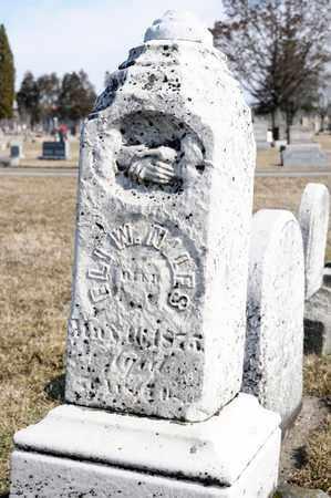 NILES, ELI W - Richland County, Ohio | ELI W NILES - Ohio Gravestone Photos