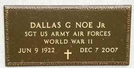 NOE JR, DALLAS G - Richland County, Ohio | DALLAS G NOE JR - Ohio Gravestone Photos