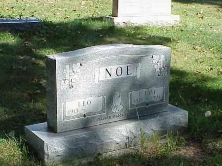NOE, LEO - Richland County, Ohio | LEO NOE - Ohio Gravestone Photos