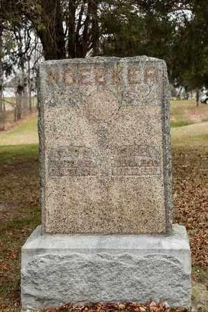 NOECKER, ISABEL - Richland County, Ohio   ISABEL NOECKER - Ohio Gravestone Photos