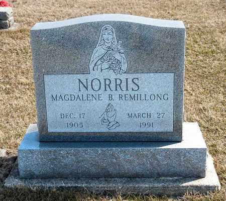 NORRIS, MAGDALENE B - Richland County, Ohio | MAGDALENE B NORRIS - Ohio Gravestone Photos