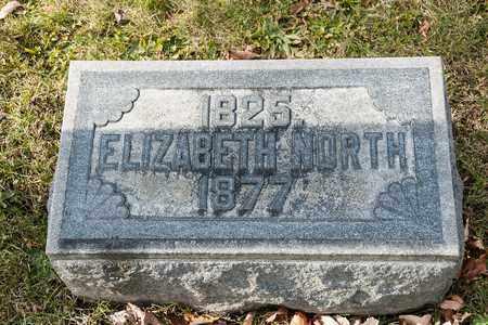 NORTH, ELIZABETH - Richland County, Ohio   ELIZABETH NORTH - Ohio Gravestone Photos
