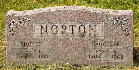 NORTON, EMMA L - Richland County, Ohio | EMMA L NORTON - Ohio Gravestone Photos