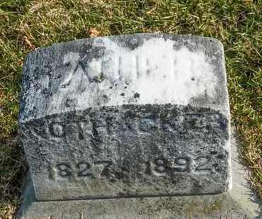 NOTHACKER, CHARLES - Richland County, Ohio   CHARLES NOTHACKER - Ohio Gravestone Photos
