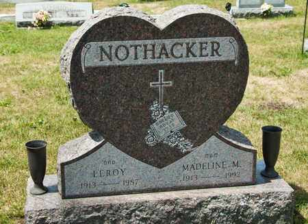 NOTHACKER, LEROY - Richland County, Ohio | LEROY NOTHACKER - Ohio Gravestone Photos