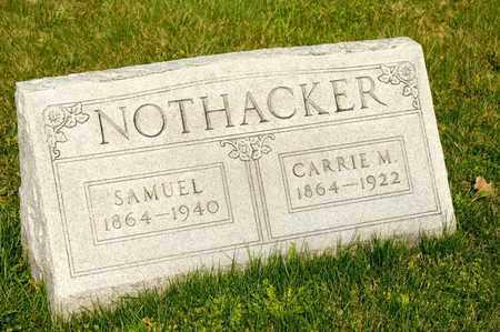 NOTHACKER, CARRIE M - Richland County, Ohio | CARRIE M NOTHACKER - Ohio Gravestone Photos