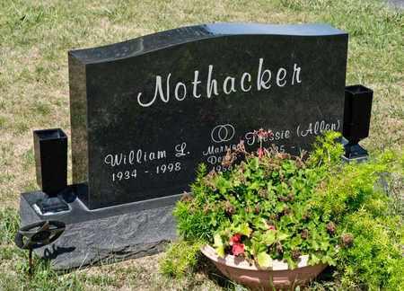 NOTHACKER, WILLIAM L - Richland County, Ohio   WILLIAM L NOTHACKER - Ohio Gravestone Photos
