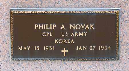 NOVAK, PHILIP A - Richland County, Ohio   PHILIP A NOVAK - Ohio Gravestone Photos