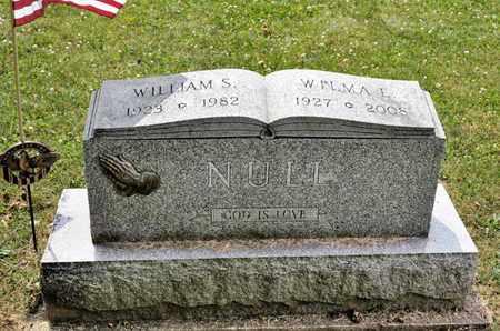 NULL, WILMA E - Richland County, Ohio | WILMA E NULL - Ohio Gravestone Photos