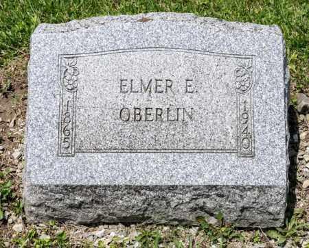 OBERLIN, ELMER E - Richland County, Ohio   ELMER E OBERLIN - Ohio Gravestone Photos