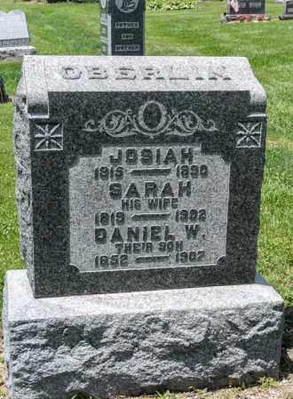 OBERLIN, DANIEL W - Richland County, Ohio | DANIEL W OBERLIN - Ohio Gravestone Photos