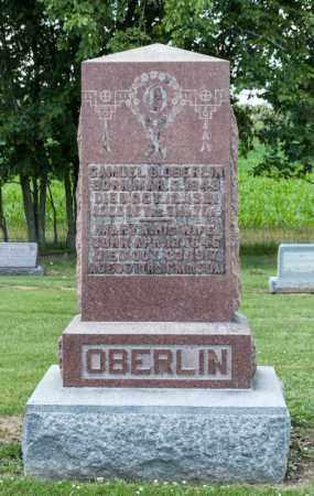 OBERLIN, SAMUEL B - Richland County, Ohio | SAMUEL B OBERLIN - Ohio Gravestone Photos