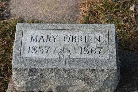 O'BRIEN, MARY - Richland County, Ohio | MARY O'BRIEN - Ohio Gravestone Photos