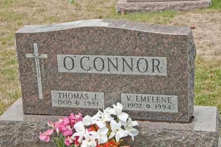 O'CONNOR, V EMELENE - Richland County, Ohio   V EMELENE O'CONNOR - Ohio Gravestone Photos