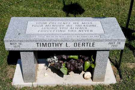 OERTLE, TIMOTHY L - Richland County, Ohio | TIMOTHY L OERTLE - Ohio Gravestone Photos