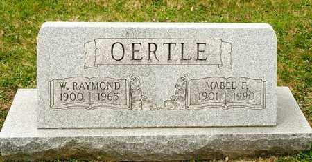 OERTLE, MABEL F - Richland County, Ohio | MABEL F OERTLE - Ohio Gravestone Photos