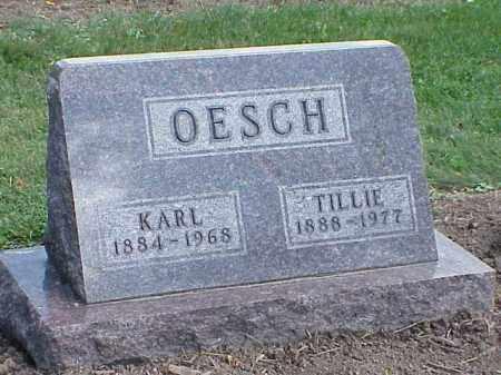 OESCH, KARL - Richland County, Ohio | KARL OESCH - Ohio Gravestone Photos