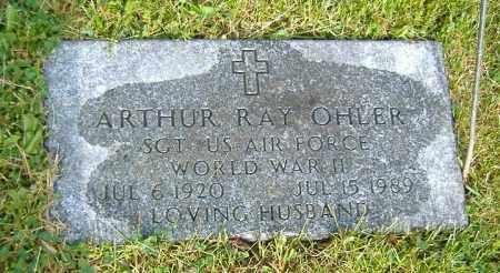 OHLER, ARTHUR RAY - Richland County, Ohio | ARTHUR RAY OHLER - Ohio Gravestone Photos