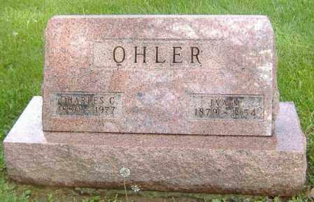 OHLER, CHARLES C. - Richland County, Ohio | CHARLES C. OHLER - Ohio Gravestone Photos