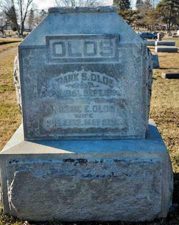 OLDS, FRANK S - Richland County, Ohio   FRANK S OLDS - Ohio Gravestone Photos