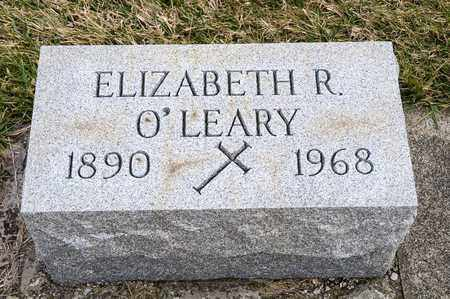O'LEARY, EILZABETH R - Richland County, Ohio | EILZABETH R O'LEARY - Ohio Gravestone Photos