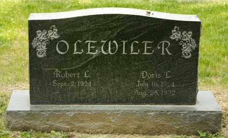 OLEWILER, DORIS L - Richland County, Ohio | DORIS L OLEWILER - Ohio Gravestone Photos