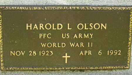 OLSON, HAROLD L - Richland County, Ohio | HAROLD L OLSON - Ohio Gravestone Photos