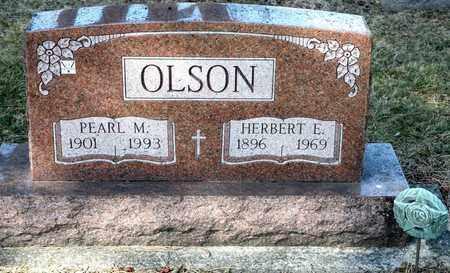 OLSON, PEARL M - Richland County, Ohio   PEARL M OLSON - Ohio Gravestone Photos