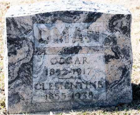 OMAN, CLEMENTINE - Richland County, Ohio | CLEMENTINE OMAN - Ohio Gravestone Photos
