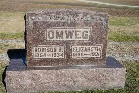 OMWEG, ELIZABETH - Richland County, Ohio | ELIZABETH OMWEG - Ohio Gravestone Photos