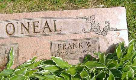 O'NEAL, FRANK WILLIAM - Richland County, Ohio | FRANK WILLIAM O'NEAL - Ohio Gravestone Photos
