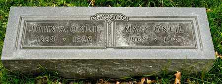 O'NEIL, MARY - Richland County, Ohio | MARY O'NEIL - Ohio Gravestone Photos