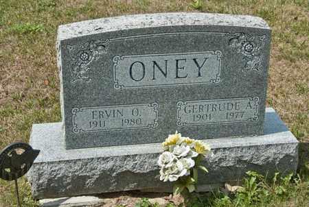 ONEY, GERTRUDE A - Richland County, Ohio | GERTRUDE A ONEY - Ohio Gravestone Photos