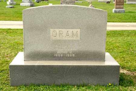 ORAM, WILLIAM G - Richland County, Ohio | WILLIAM G ORAM - Ohio Gravestone Photos
