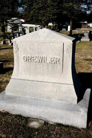 OREWILER, BURTON M - Richland County, Ohio | BURTON M OREWILER - Ohio Gravestone Photos