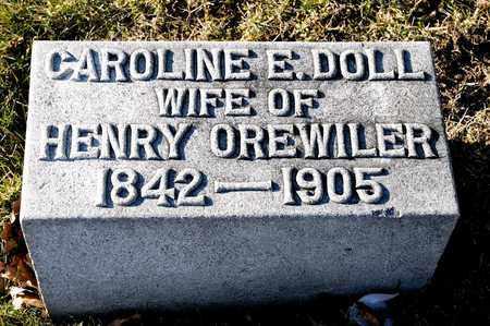 DOLL OREWILER, CAROLINE E - Richland County, Ohio   CAROLINE E DOLL OREWILER - Ohio Gravestone Photos