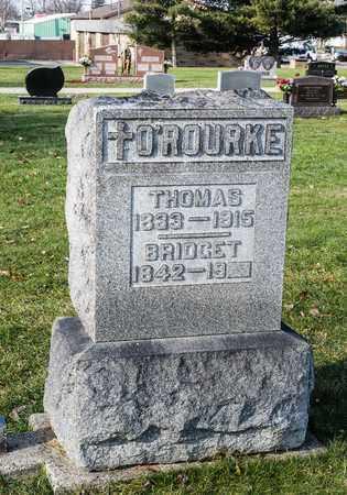 O'ROURKE, THOMAS - Richland County, Ohio | THOMAS O'ROURKE - Ohio Gravestone Photos