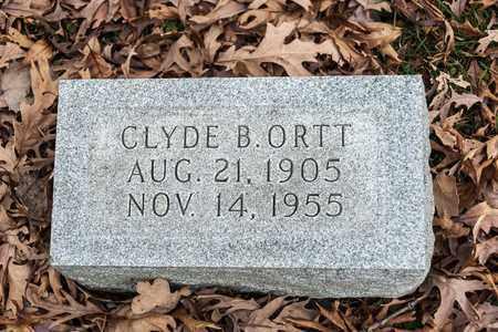 ORTT, CLYDE B - Richland County, Ohio | CLYDE B ORTT - Ohio Gravestone Photos